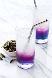 Butterfly Pea Lemonade Aka Unicorn Magically And Naturally Changes Color