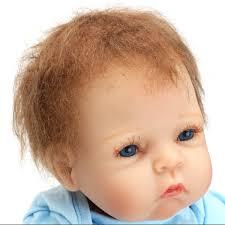 Unpainted Soft Vinyl Doll Kits DIY Reborn Baby Mold Head 34Limbs