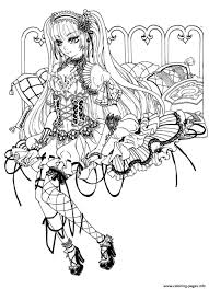 Gothic Fairy Coloring Pages Print Download 151 Prints
