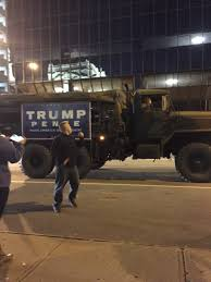 Trump Supporter Arrives At Anti-Trump Protest In Military-style ... 2011 Freightliner Cascadia 125 Sleeper Semi Truck For Sale 529053 Too Much Class For One Post Beofcraigslist Craigslist Pickup Trucks Best Of And Cars Diesel Dig In Arizona Does 2003 Chevy Mean Mexican Drug Runner Indianapolis Used Local Blatant Truism Americans Automakers Still Love The Httpsindiapcraigslisrgctod1969chevrolet108van Top In In Savings From 2899 No Need To Wait Until 20 An Allelectric Ford Ray Ban Heritage Malta And By Owner Bangshift