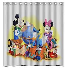 Mickey Minnie Bathroom Decor by Cheap Minnie Mouse Shower Curtain Find Minnie Mouse Shower