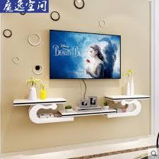 kreative europäischen wand hängen tv schrank set top box