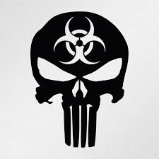 Punisher Skull Biohazard Symbol Car Body Window Bumper Vinyl Decal ... The 2nd Half Price Firefighter Skull Car Sticker 1915cm Car Styling 2 Metal Mulisha Girl Skulls Bow Vinyl Decals 22 X Window Truck Army Star Military Bed Stripe Pair Skumonkey 2019 X13cm Punisher Auto Sticker Pentagram Cg3279 Harleydavidson Classic Graphix Willie G Decal Pistons Hood Matte Black Ram F150 Pin By Aliwishus On Skulls Flags Pinterest Stickers And Decalset Hd Skull American Flag Backround Cg25055 Die Cutz High Quality White Deer Rack Wall Etsy Unique For Trucks Northstarpilatescom Buy Shade Tribal Graphics Van