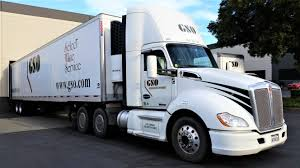 Golden State Overnight Delivery Inc - Kenworth T680 Coupled To A ...