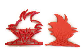 Dragon Ball Z Pumpkin Carving Templates by Dragonball Z Goku Fondant Cutter Cookie Cutter Things4thinkers