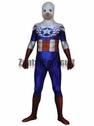 Falcon Captain America Costume Halloween Cosplay Superhero Zentai Suit