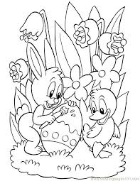 Full Image For Free Coloring Pages Printable Halloween Easter Kids 18