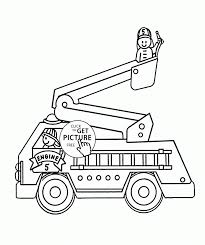 Pretty Design Fire Truck Coloring Pages Printable Beautiful Page - Ruva