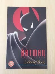 The Batman Adventures Coloring Book Early Harley Quinn Print