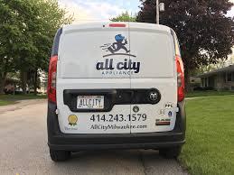 100 Appliance Truck All City All City Milwaukee 414 2431579