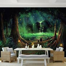 günstige benutzerdefinierte 3d stereo mural tapete hd