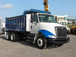 2009 INTERNATIONAL 8600 T/A STEEL DUMP TRUCK FOR SALE #2812