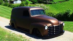 47 Chevrolet Panel Truck Street Rod Hudson Rod And Custom - YouTube