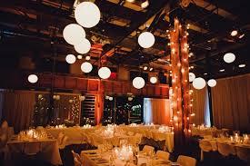 Sydney Wedding Industrial Space Lanterns Festoon Gobo Projection Rustic