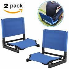 BP Recliner Sport Portable Folding Bleacher Cushion Seat ...