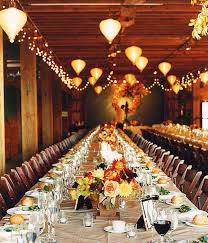 Barn Wedding Create A Warm Glow With Hanging Lanterns And Strings Of Tiny Lights Fall DecorationsWedding