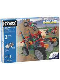 K'Nex 13026 4WD Demolition Truck Building Set At John Lewis & Partners