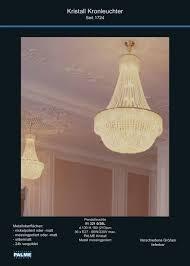 chandelier www palme leuchten de empire kronleuchter