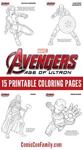 Print These FREE Kids Printables Marvels The Avengers