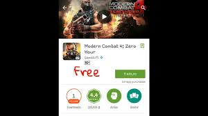 modern combat free how to modern combat 4 zero hour for free on any android