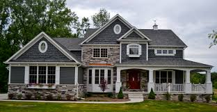 House Plans Farmhouse Colors An Exterior Shot Of One Version Of The Eleanor Steinerhomes