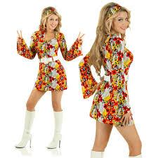 60s Flower Power Retro Costume