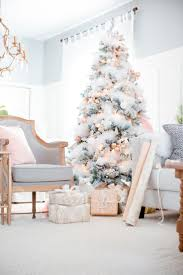 4ft Pink Pre Lit Christmas Tree by Best 25 White Christmas Trees Ideas On Pinterest White