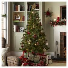 Slimline Christmas Tree Asda by Christmas Trees Christmas Decorations Tesco
