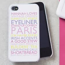 personalised case for iphone by pickle pie ts