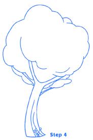 cartoon trees st4