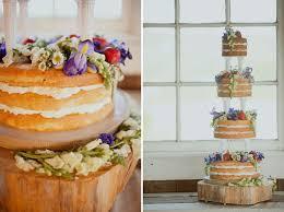 Rustic Tiered Sponge Cake Phew