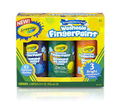 Crayola Bathtub Fingerpaint Soap By Play Visions by Amazon Com Finger Paint Toys U0026 Games