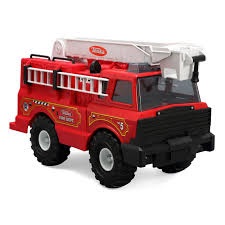100 Tonka Mighty Motorized Fire Truck Toy Classics Steel Products Pinterest