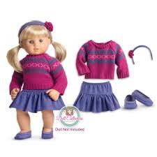 ZWSISU 5pcs Stylish Doll Outfits Clothes Set Fit 18 Inch American