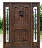 Rustic Round Top Doors