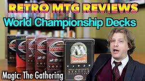 mtg world chionship decks 1997 retro mtg reviews world chionship decks magic the gathering