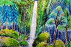 MAKING A MARK How To Sketch Advice And Information By Katherine Fine Art Drawing In Coloured Pencils Color Pencil Drawings Of Landscapes Draw