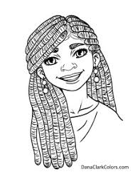 African American Childrens Coloring Pages