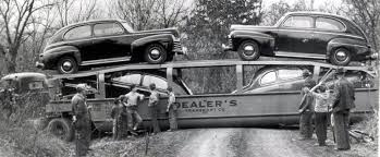 Just A Car Guy: Kansas, 1946, A Thief Stole This Transporter And Had ...