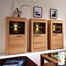 wohnzimmer komplett set inkl couchtisch vitrinen wohnwand dawson 36 mit led beleuchtung