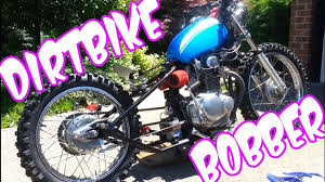 DIRT BIKE BOBBER - START UP & RIDE - YouTube Bobber Through The Ages For The Ride British Or Metric Bobbers Category C3bc 2015 Chris D 1980 Kawasaki Kz750 Ltd Bobber Google Search Rides Pinterest 235 Best Bikes Images On Biking And Posts 49 Car Custom Motorcycles Bsa A10 Bsa A10 Plunger Project Goldie Best 25 Honda Ideas Houstons Retro White Guera Weda Walk Around Youtube Backyard Vlx Running Rebel 125 For Sale Enrico Ricco