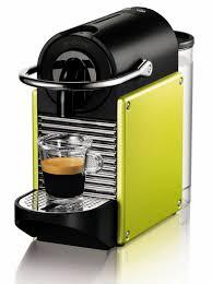 Yellow Lime Nespresso Espresso Machine