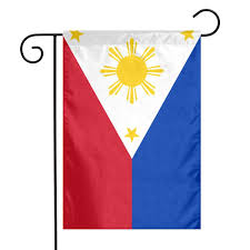 Amazoncom Flag The Philippines Floral Garden Yard Flag Banner