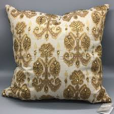 Pier One Decorative Pillows by Beaded Throw Pillows Ebay