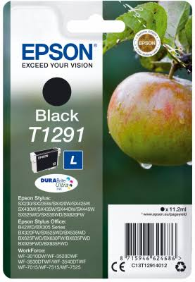 Epson Cartridge T1291 Black