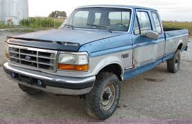 100 1992 Ford Truck F250 Extended Cab Pickup Truck Item 5786 SOLD