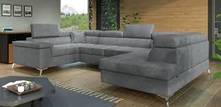 u form ecksofa sofa wohnlandschaft thiago schlaffunktion bettkasten ottomane farbe wählbar