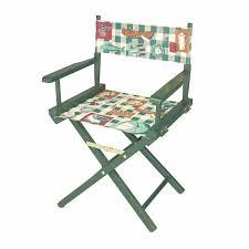Folding Chairs Cotton/Wood Folding Chair 33 5/8