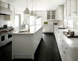 Eye Catching Kitchen Black And White Floor Vinyl Miraculous Small Modern On