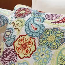 Cynthia Rowley Bedding Twin Xl by Home Essence Apartment Tula Quilt Set Walmart Com